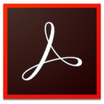 This is the icon used to display Adobe Acrobat on the Vye Graphics website.