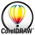 This is the icon used to display CorelDRAW on the Vye Graphics website.
